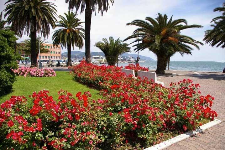 Passeggiata Morin a La Spezia